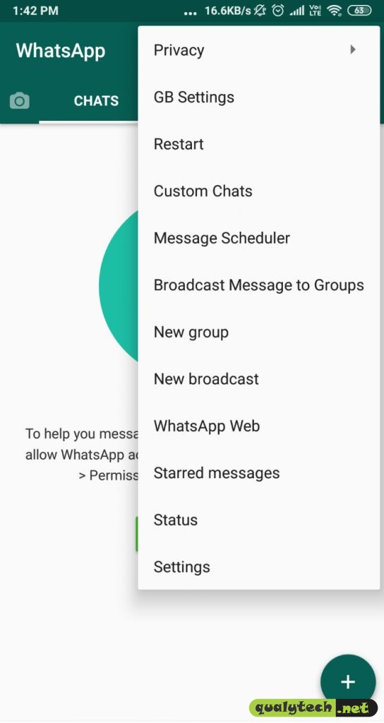 Download GBWhatsApp v8.0 Apk for Android