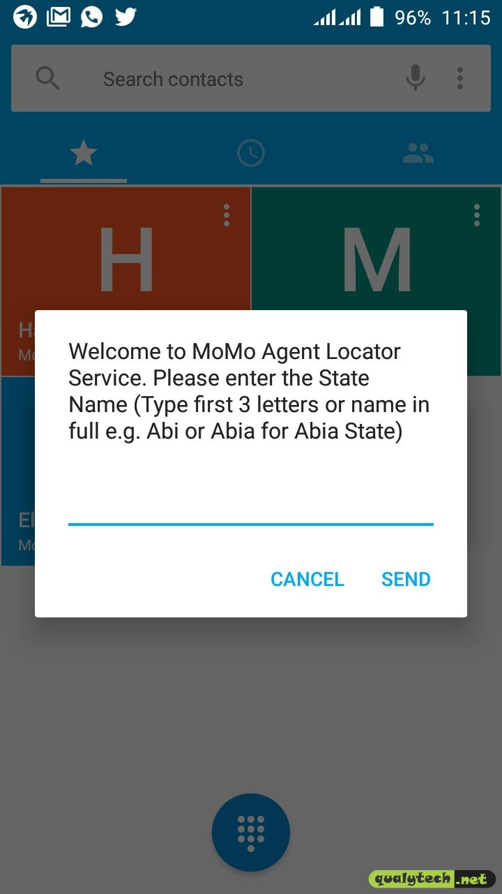 How to locate a MoMo Agent using MoMo Agent Locator Service