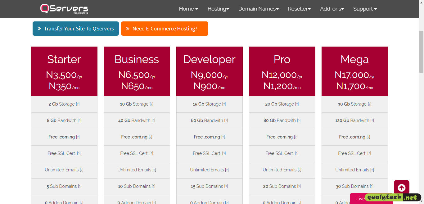 QServers review: Is it Nigeria's best rated web host?