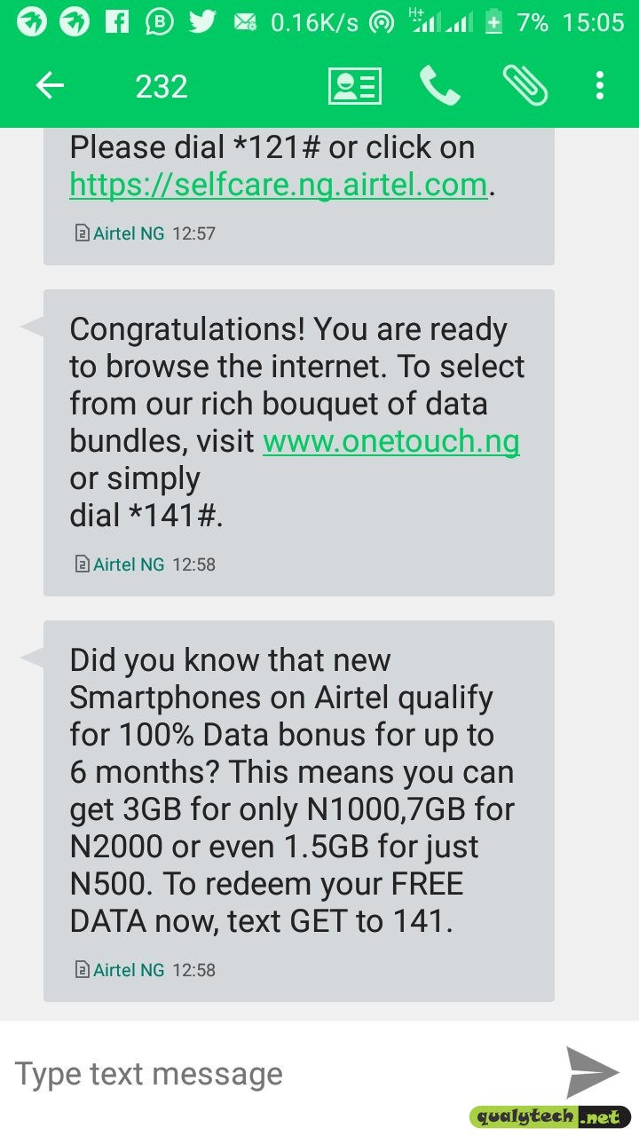 How to become eligible for Airtel double data offer