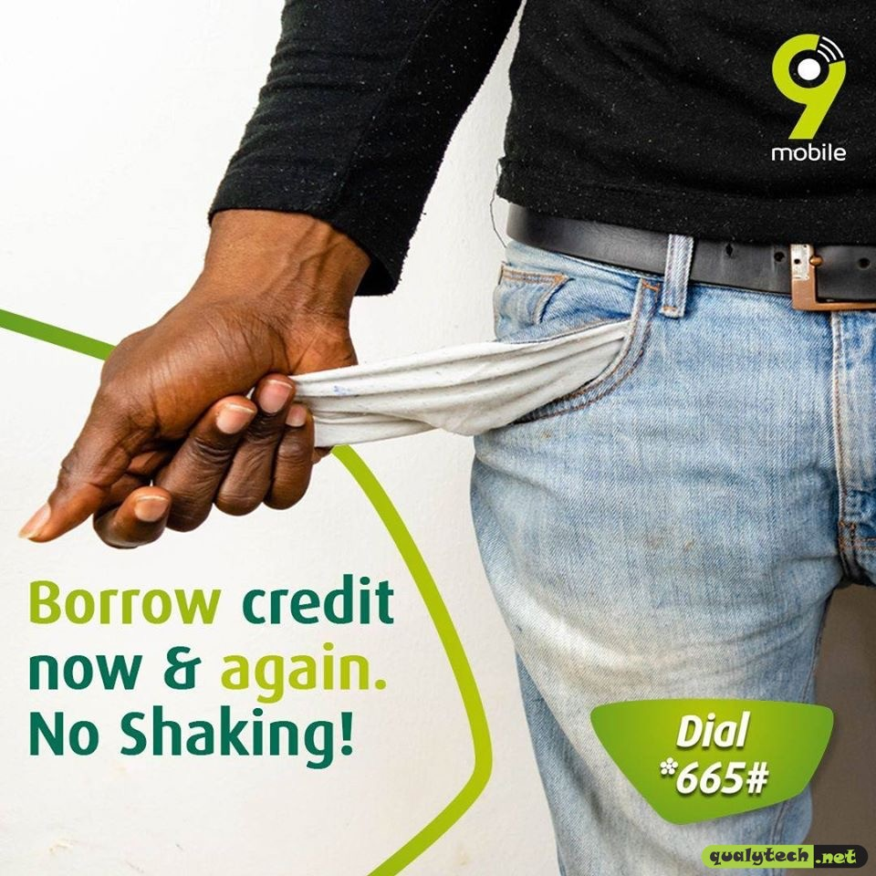 How to borrow credit more than once without paying back on 9mobile