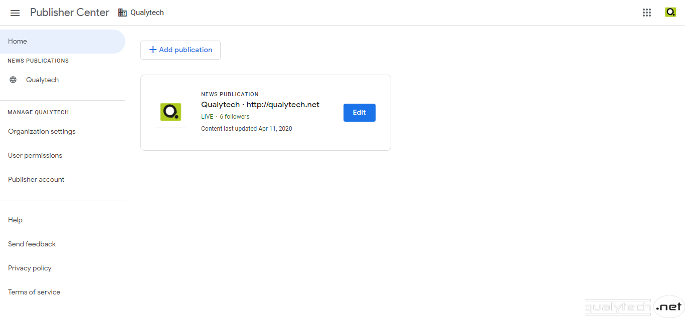 How to submit your site to Google News Publisher Center