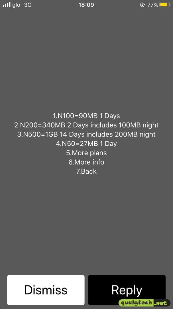 How to activate 1.2GB for N500 on Glo, valid for 14 days