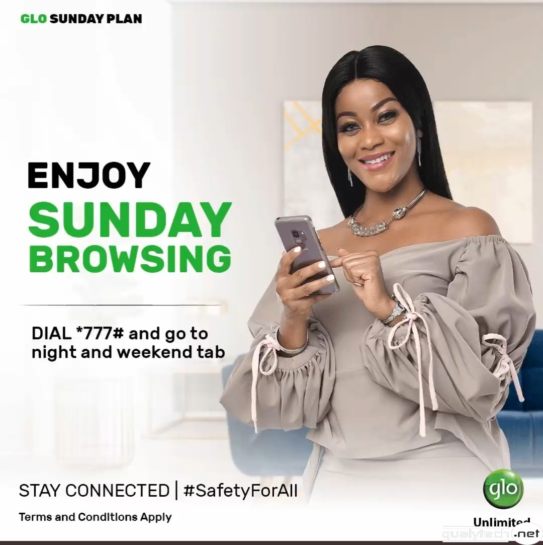 How to activate 1.25GB for N200 Glo Sunday data plan