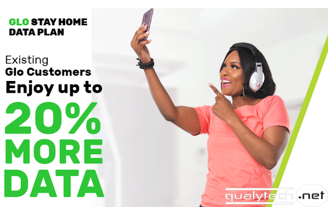 glo stay at home data