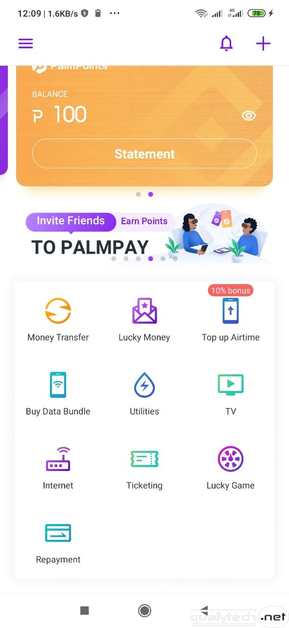 PalmPay referral program, earn N200 per referral