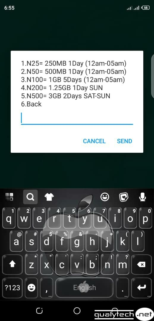 How to activate 1.25GB for N200 sunday data on Glo