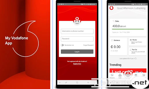 How to get 1GB free data on Vodafone from My Vodafone (Ghana) app