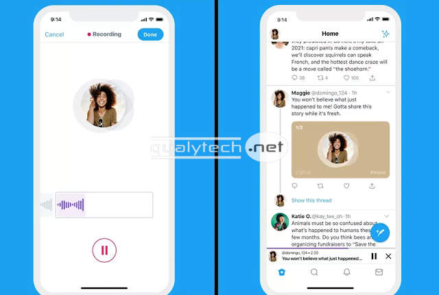 Twitter introduces Audio tweets