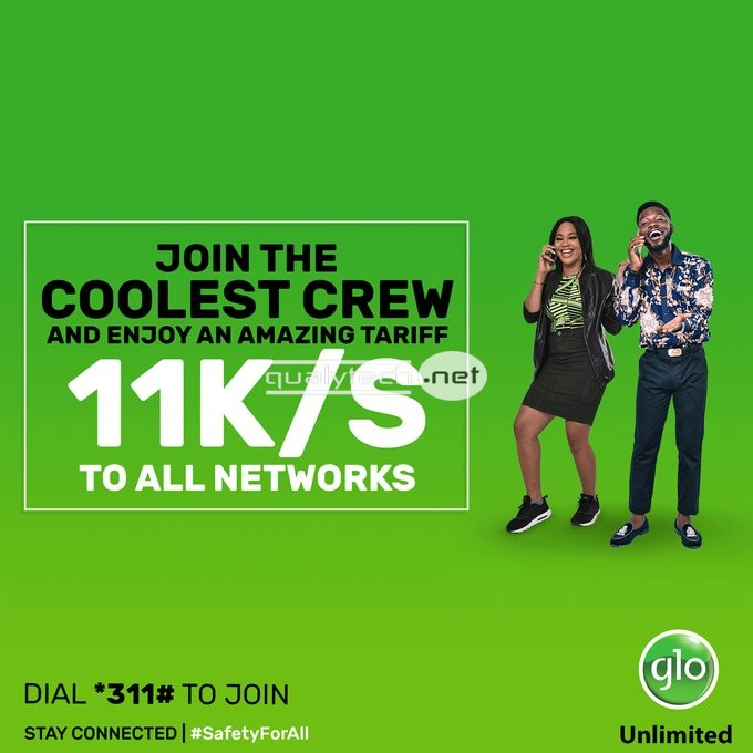 Glo 11k/s plan, the best Glo tariff plan for calls