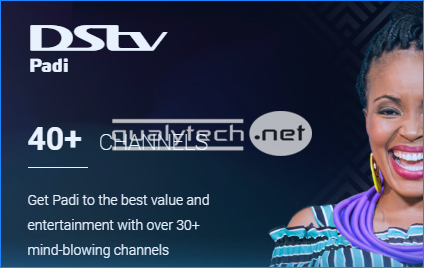 DStv Padi, the cheapest DStv package in Nigeria