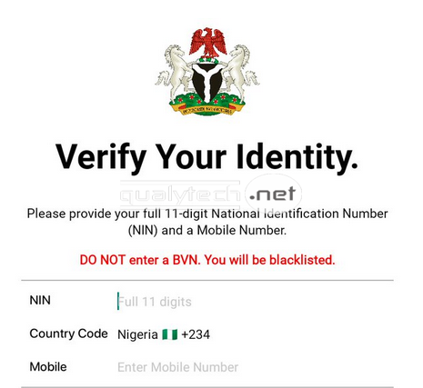 How to get your National ID card using NIMC mobile app