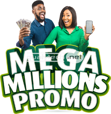 Win a free smartphone & 1 Million naira cash in 9mobile Mega Millions Promo