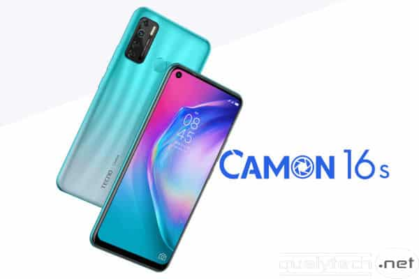 Tecno Camon 16s launched with 4GB RAM and 5000 mAh battery