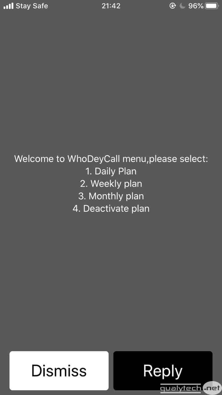 How to activate MTN WhoDeyCall service