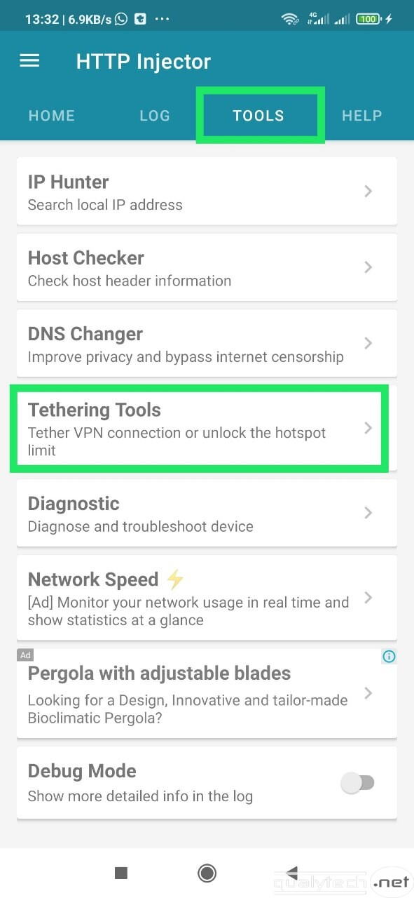 How to share a VPN connection over Android hotspot to PC (No root!)