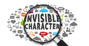 Steps to make a profile name invisible